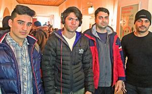 Idriz Azizi, Abdulwasi Sadeqi, Bashir Kahn och Waqium Rahimi kände igen sina egna berättelser om flykt i