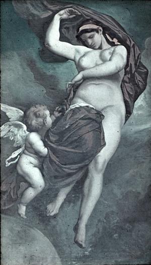 Gaia, Moder jord, målning av Anselm Feuerbach från 1875.