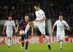 En liten killes högsta önskan slog in en kväll i början av december: Att få se favoritlaget Barcelona, men samtidigt en bonus att få se Zlatan  i motståndarlaget PSG göra mål.
