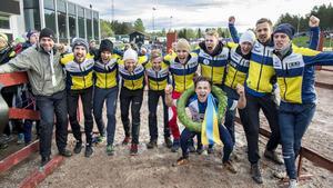 Södertälje Nykvarn Orienterings seger i Tiomila gav även klubben Telgebragden 2016.