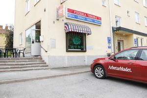 Vi träffade Gävles nya pizza-recensent på Pizzeria Verona.