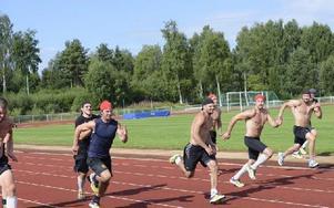 Absolut ingen kunde rå på Mattias Beck vid sprinten. Ingen var snabbare än honom. Foto: Marcus Simm