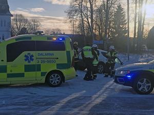 Olyckan inträffade i närheten av kyrkan i Äppelbo.