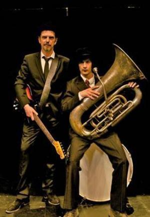 Lars Demian och David Tallroth.     Ska spela i Gasklockan den 8 mars.