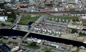 Gävle ska nu få sina första ägarlägenheter på Gävle Strand. 14 fastigheter har bildats i ett flerbostadshus som ännu inte har byggts men beräknas vara klart till sommaren.