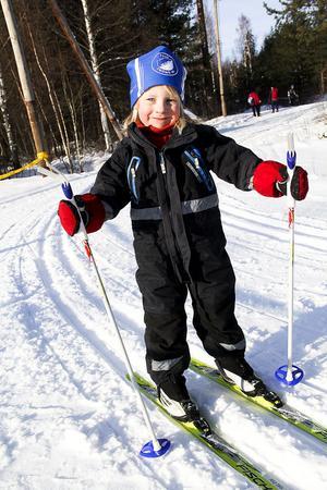 Marie Pavlovska, fyra år.