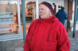 Else Ek, 80 år,  varit kund hos Swedbank i Svärdsjö i flera decennier.