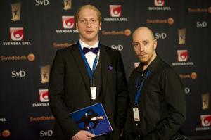 DT-sportens team på plats vid Idrottsgalan: Anders Staffas och Lars Dafgård (foto)