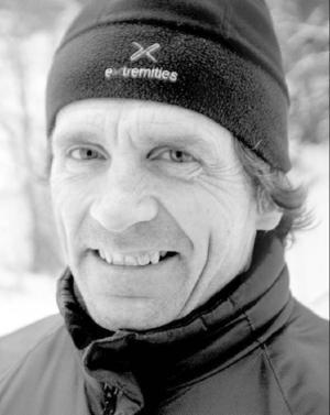 Gudmund Söderin, fjällräddningens alpina grupp, fick i helgen rycka ut till Snasahögarna. En 12-årig pojke hade ramlat över tio meter.