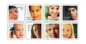 Nästan 1500 såna här vykort med information om drop in-dop har skickats ut till örebroare.