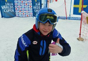 Anton Rösnäs tog en silverplats under LVC-finalerna i Duved