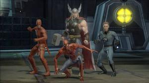 """""""Marvel Ultimate Alliance"""" en rolig idé, men faller på genomförandet och spelets usla AI.FIFA 10 tar digital fotboll till ännu en ny, högre, nivå."""