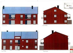 Företaget Kullen i Falun AB planerar att bygga nya bostäder i centrala Falun.