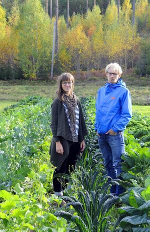 Frida Alenius och Nicklas Jonsson slår ner sina bopålar i Söderhamns jord, efter många år i Malmö.
