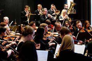 Musikerna i orkestern är en blandning människor i olika åldrar från bland annat Söderhamn, Bollnäs och Alfta.