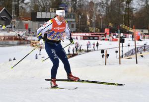 Charlotte Kalla, Piteå elit, säsongspremiär i svenska skidspår.