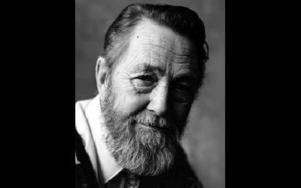 Lars Lundkvist,  80 år, men  ännu verksam som  poet.
