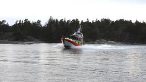 Sjöräddningen deltog i letandet efter en kvinna som försvann från Degerholmen, i samband med en badtur.