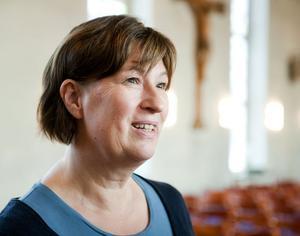 Anna Bengtsdotter leder Hagakyrkans körer och har själv sjungit i kyrkokör sedan hon var liten.