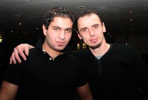 Blue Moon Bar. Adam och Roberto