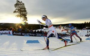Moras Stina Nilsson bästa svenska tjej i Lillehammer.