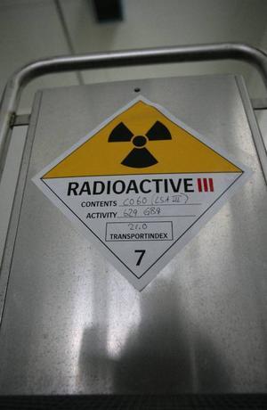 Dags att ta hand om radio-aktivt avfall?foto: scanpix