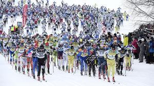 Vasaloppet slog rekord i antal anmälda 2016, men inte 2017.