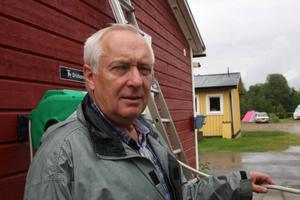 Lars-Erik Larsson från Göteborg tycker att Sveg är mysigt.