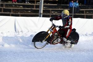 57-årige Stefan Svensson från ÖMK Rundbana tog sitt sjunde SM-guld.