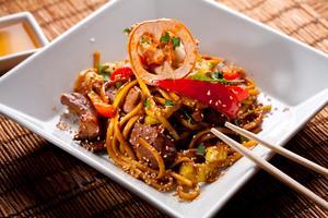 I Kina kan man äta både billigt och gott.