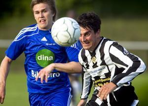 J-B Baylac gjorde det första av Ljusnes tre mål då laget besegrade Norrala i kommunderbyt med 3–1.
