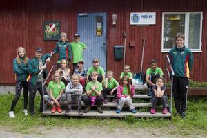 Lägret är vid klubbstugan vid skidstadion i Ljusdal och pågår under fem dagar.