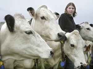 Linda Lundholm driver Brottans lantbruk tillsammans med maken Thomas. På gården finns 45 mjölkkor.