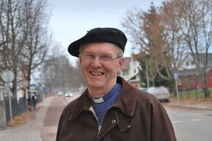 Fredrik Lautmann - på väg ut i världen efter tolv år i Leksands församling.