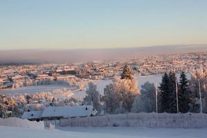 Utsikt från Gustavsbergsbacken. Foto: Jennifer Olofsson