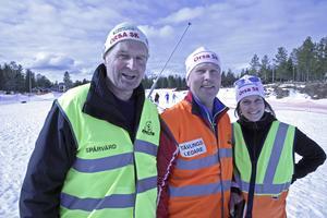 Ola Hassis, Bror Nilsson och Julia Limby är profiler i Orsa SK. (Bilden är från Görönklittsjakten 2016)