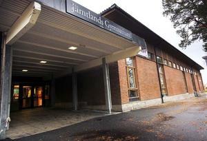 Här kommer det att bli tomt om några år. Palmcrantzskolans 18 000 kvadratmeter måste fyllas med nytt innehåll när den nya gymnasiebyn vid Wargentinsskolan.