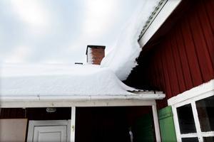 Ett gränsfall om taket behöver skottas eller inte.