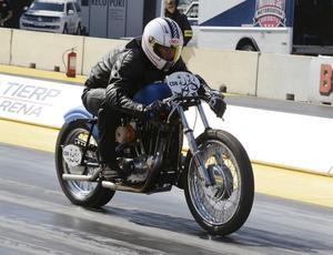 Sören Dahlgren var kvaletta i Classic drag bike.