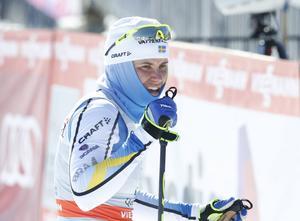 Ida Ingemarsdotter tvingas avbryta Ski Tour Canada. Arkivbild.