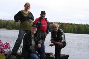 Fjärdöns framtid. Kristina Löfström, Lars-Olof Hedström, Benny Lundin och Erling Öhman yrkar på att Fjärdön ska avsättas till naturreservat.