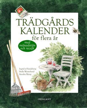 Trädgårdskalender för flera år   Ingrid af Sandeberg, Stella Westerlund, Annika Åberg   Ordalaget   Känns nästan fel att skriva i den fint illustrerade boken. Här finns tips och härliga recept men tanken är också att bokens ägare ska kunna skriva in allt som händer i den egna trädgården, från det första lilla fröet till höstens skörd. Längst bak i boken finns anteckningssidor för plantering och beskärning av träd och buskar, speciella sidor för lökväxter och perenner, ettåringar och kryddor och en hel del annat.   Tanken med boken är naturligtvis att man ska kunna gå tillbaka och se vad man planterat, vad som växer och vad som inte tog sig. Det där för flera år är nog en sanning med modifikation. Det beror nog på hur stor trädgård man har och hur mycket man planterar. Men en mycket vacker kalender för den som vill ha ordning och reda.