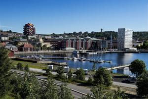 Närheten till centrum är något som gästhamnens besökare premierar.