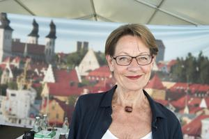 Gudrun Schyman i Almedalen 2015.