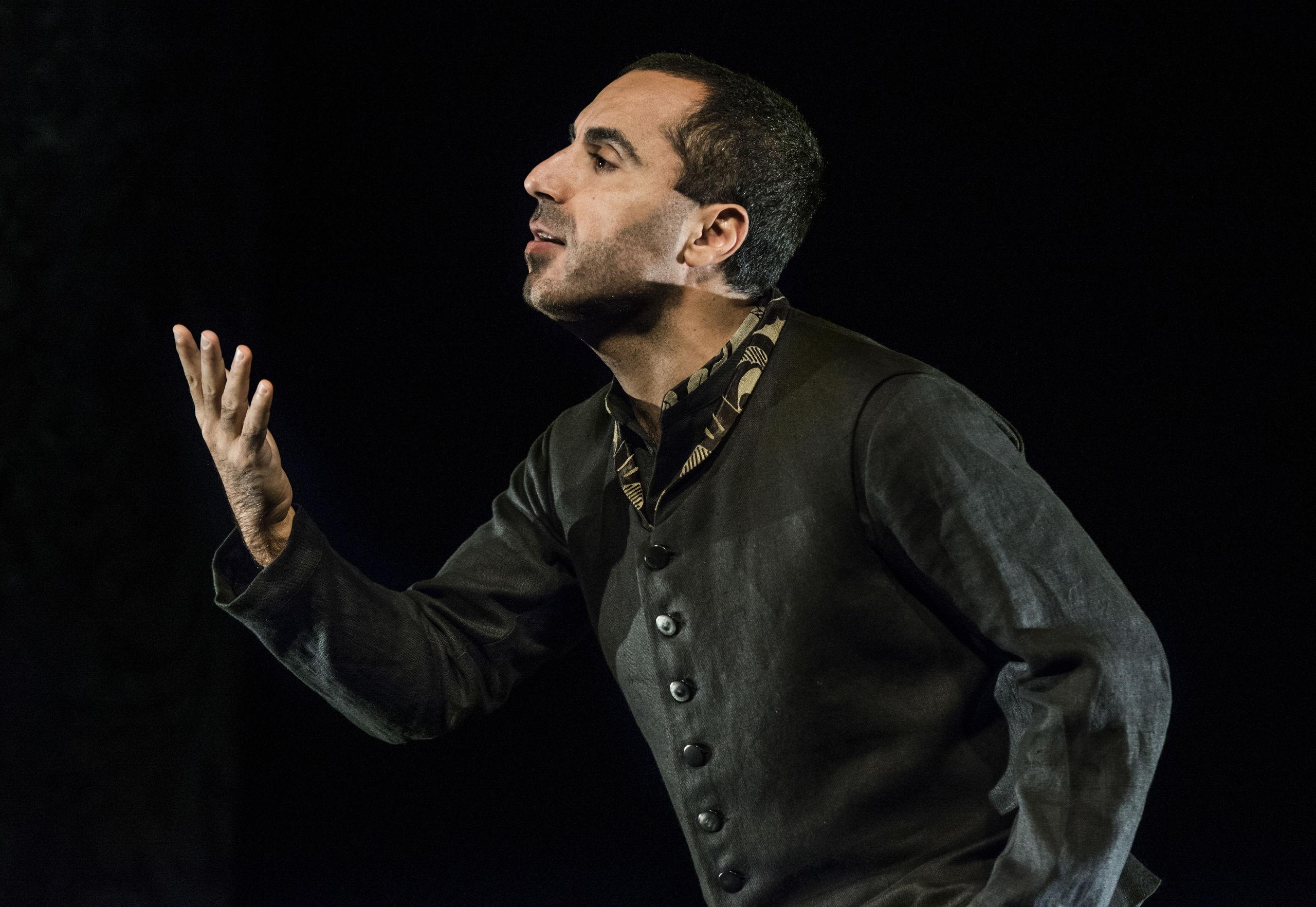 Shakespeare spelad med hela kroppen