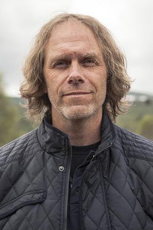 Pär Holmgren föreläste om väder, snö och skog på Bruksvallarna Game Fair