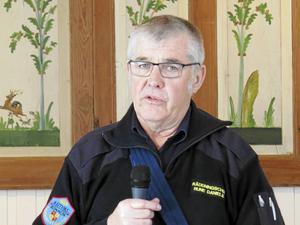 Räddningschef Rune Daniels informerade om säkerhet i hemmen.