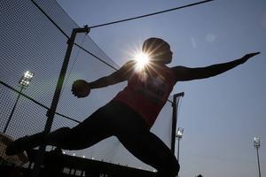 OS-guldmedaljören Ria Stalman använde anabola steroider inför diskustävlingarna i Los Angeles 1984. Arkivbild.