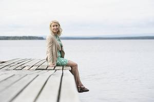 Författaren som berättar om glesbygd och landsbygd, Elin Olofsson.