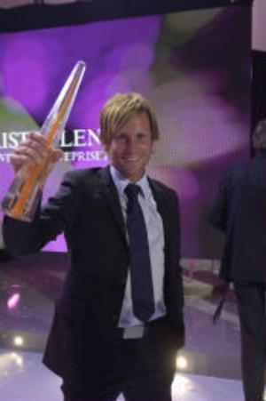 Peter Jihde fick Kristallen för bästa programledare Nyheter/Sport.